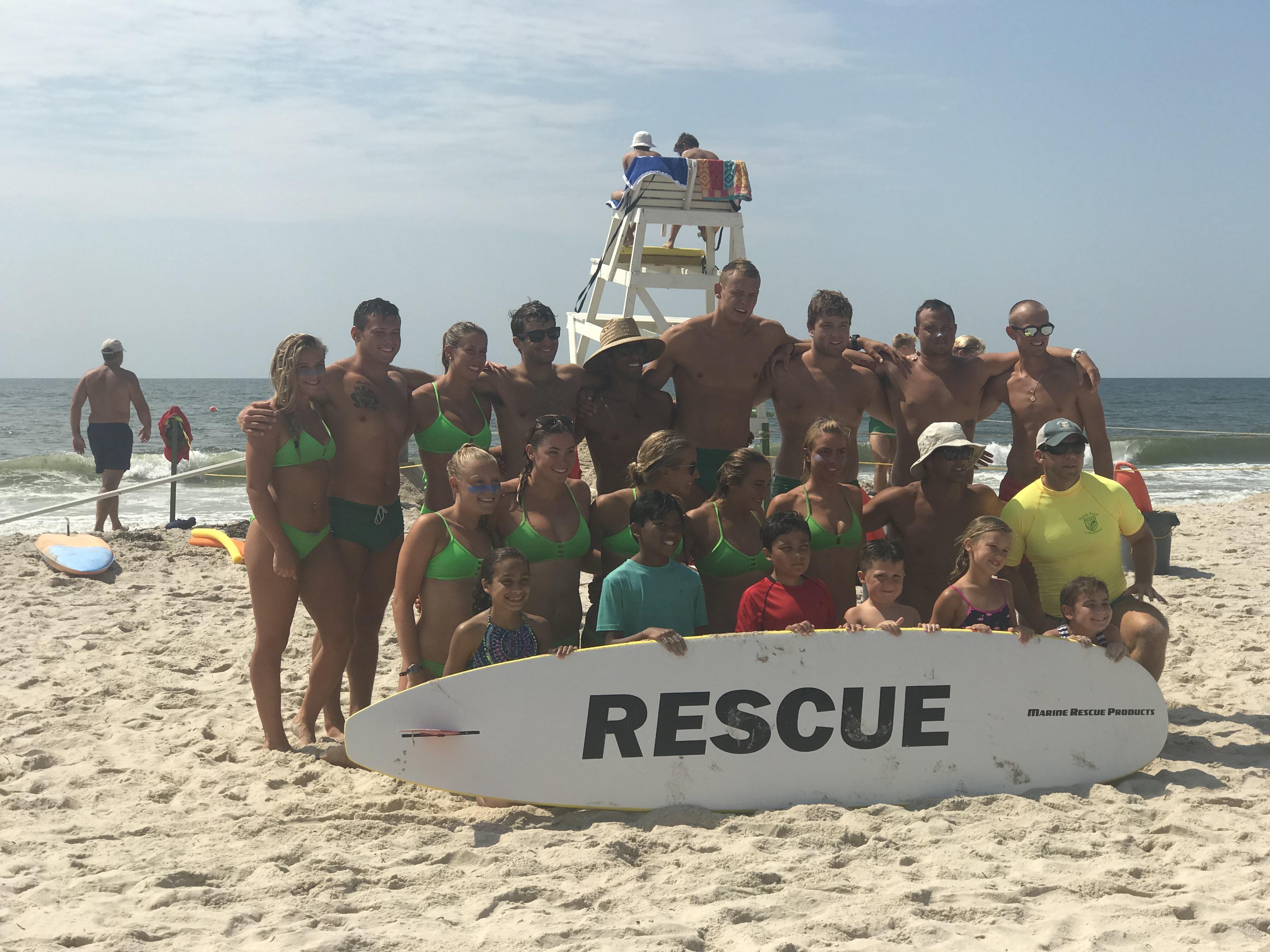 Junior Lifeguards, July 2018